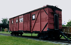 [Single-sheathed boxcar]